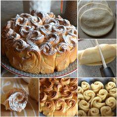 How to DIY Easily Pull Apart Rose Pastry | www.FabArtDIY.com LIKE Us on Facebook ==> https://www.facebook.com/FabArtDIY