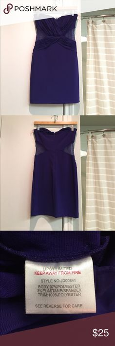 Lipsy London purple bodycon dress Fitted dress. No stains or tears. Lipsy London Dresses Mini