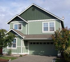 Eastside's own professional house painting contractor offering quality interior & exterior house painting to Redmond, Bellevue, Sammamish, & Woodinville WA. House Paint Exterior, Interior And Exterior, Deck Refinishing, House Painter, Painting Contractors, Plank, Beautiful Homes, Shed, Outdoor Structures