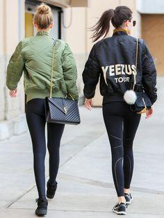 ジジ・ハディッド(Gigi Hadid)、ケンダル・ジェンナー(Kendall Jenner)