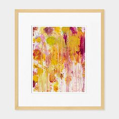 Cy Twombly: Untitled Framed Print