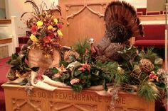 Just finished decorating church for Thanksgiving!
