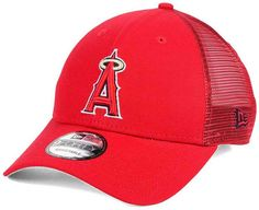 best service c52b8 33778 New Era Los Angeles Angels of Anaheim Team Trucker Patch 9FORTY Snapback  Cap   Reviews - Sports Fan Shop By Lids - Men - Macy s