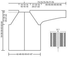Von oben nach unten kraus rechts gestrickte DROPS Jacke in Alpaca mit Raglanärmeln. Größe S - XXXL. Kostenlose Anleitungen von DROPS Design.