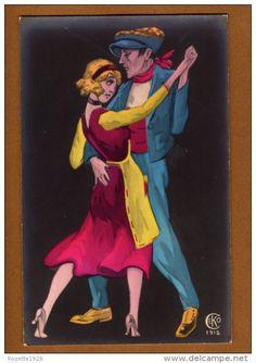 COUPLE DE DANSEUR EDT CEKO 1912 - Couples