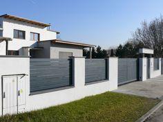 Backyard House, Facade, Gate, House Plans, Garage Doors, House Design, Fences, Interior, Outdoor Decor
