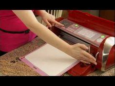 Cricut Cake: Making the Cut, Video