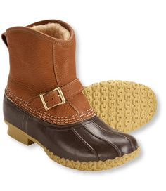 Women's Tumbled-Leather L.L.Bean Boots, 7