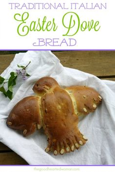 Italian Easter Dove Bread {Colomba Pasquale} | The Good Hearted Woman Easter Dinner Recipes, Holiday Recipes, Italian Easter Bread, Amazing Vegetarian Recipes, Easy Bread, Easy Pie, Easter Traditions, Top 5, Easter Treats