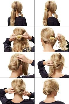 Here you have a beautiful hairstyle. For having a date this is perfect! ♡♥♡: