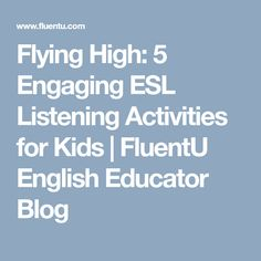 8 Best ESL: Listening/Speaking images in 2018 | Esl, Lesson