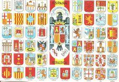 HERALDICA ESPAÑOLA 1975 - (Provincias de España)
