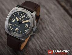 Lum-Tec M75 Titanium Men's Watch