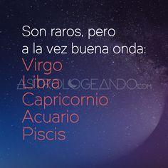#Virgo #Libra #Capricornio #Acuario #Piscis #Astrología #Zodiaco #Astrologeando