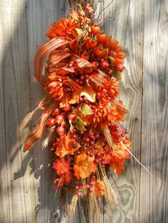 Fall Swag for the front door