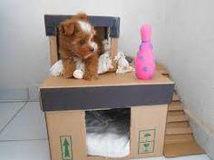 Resultado de imagem para como fazer casinha de cachorro camiseta