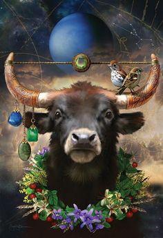 Taurus Saved from John Blumen Illustration