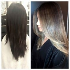 Transformation Tuesday! Color: Diana @revlonprocanada. Fioriosquareone, fiorio, fioriosalon, makeover, balayage, olaplex, asian, colorist, colormelt, sombre, ombre, blend, mississauga, revlon, longhair, natural, babylights, hair, style, fashion, picoftheday, pretty, followme, instagood, instahair, beautiful, blonde, brunette, transformation, beforeandafter.