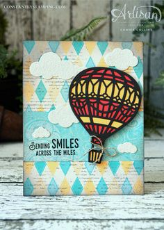Connie Collins | Global Design Project #GDP063 Theme Challenge | sending smiles