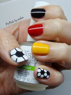 World Cup Nails 2014: GERMANY
