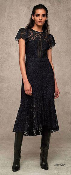Marissa-Webb-Pre-Fall-2018 lace black dress