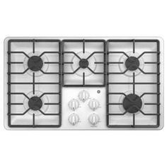 ge profile 5burner gas cooktop stainless steel common 30 in actual 30in pgp9030slss stainless steel steel and products