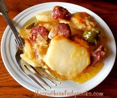 Cheesy Scalloped Potatoes and Sausage4 - tslc