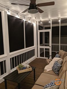 How to Restore, Update, and Screen in a Porch - Woodshop Mike - Modern Design House, Screened In Porch Diy, Home Porch, Home, Decks And Porches, Porch Life, Screened Porch Designs, Porch Remodel, Side Porch