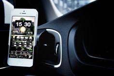 My Volvo V40   iPhone holder