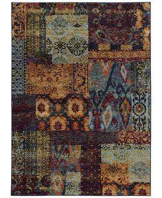 Oriental Weavers Andorra Patchwork Multi 6'7