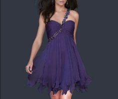 ROSA Kurz eine Schulter Abendkleid Ballkleid Cocktailkleid Kleid Gr 34-44 Maß | eBay