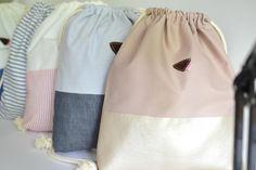 Stylische Turnbeutel / beautiful gym bags by majamien via DaWanda.com