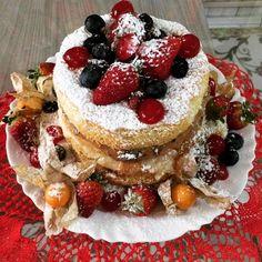 Receita de Bolo naked cake. Enviada por maria regina kotovicz e demora apenas 60 minutos.