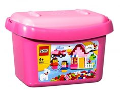 Build a house, a pony, or anything else you can imagine with this special box filled with LEGO® bricks in colors you love and elements like fences, windows, doors and flowers!
