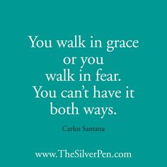 Walking - Carlos Santana - Inspirational Picture Quotes About Life | The Silver Pen