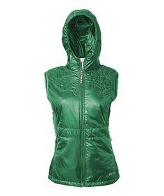 Look at this #zulilyfind! Neelam Green Maaya Vest by Sherpa Adventure Gear #zulilyfinds