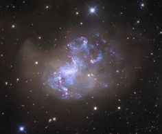 APOD: 2010 March 30 - Unusual Starburst Galaxy NGC 1313