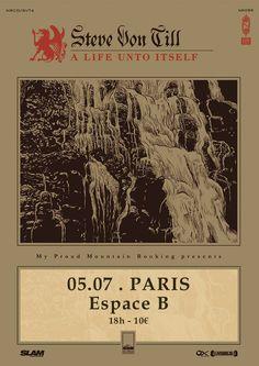 STEVE VON TILL (Neurosis) en concert à Paris !!