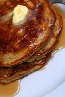 Edna Mae's Sourcream Pancakes - I (Alex) actually made these today and I LOVED THEM. And I usually hate pancakes.