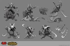 Kled the Cantankerous Cavalier on Behance