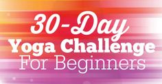 This 30 day yoga challenge for beginners is a great place to begin your yoga journey! Each video is 10-15 min and is done at an easy pace.