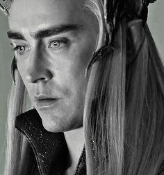 Thranduil looking concerned