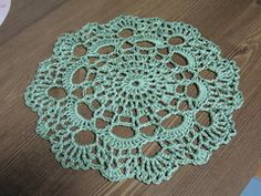 Ravelry: Doily Coaster pattern by Woodhill Design