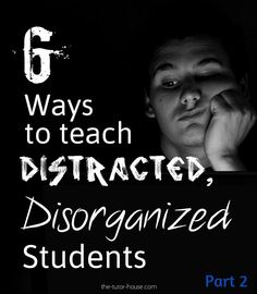 What plans have you made to help your distracted students? Check out these 6 tips!