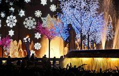 Amazing illumination in Christmas Barcelona #barcelona #christmas