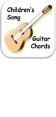 Fantastic site that has lyrics, guitar chords and the way the song should sound. Tons of kid songs.