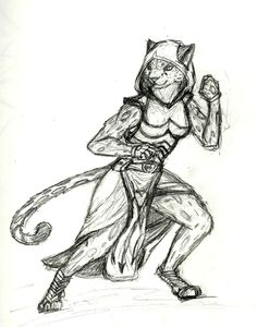 Image result for tabaxi sketch