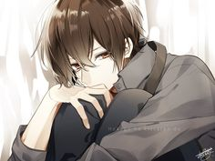 Find images and videos about anime and shoujo on We Heart It - the app to get lost in what you love. Animes Emo, Fanarts Anime, Anime Chibi, Kawaii Anime, Anime Characters, Anime Demon Boy, Dark Anime Guys, Cool Anime Guys, Cute Anime Boy