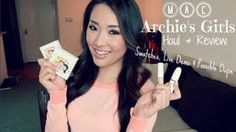 MAC Archie's Girls Haul & Review with Swatches, Live Demo, Possible Dupe! - hollyannaeree, via YouTube.