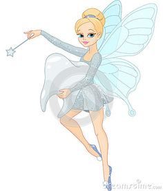 Cute Tooth Fairy flying with Tooth. Illustration of a cute Tooth Fairy flying wi , Cute Cartoon Boy, Sheep Cartoon, Cute Funny Cartoons, Tooth Fairy Images, French Fairy Tales, Fairy Clipart, Cute Tooth, Owl Vector, Dental Art